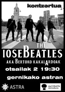 The Iosebeatlesen Kontzertuan