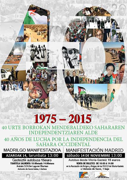 EUCOCO y mani Madrid