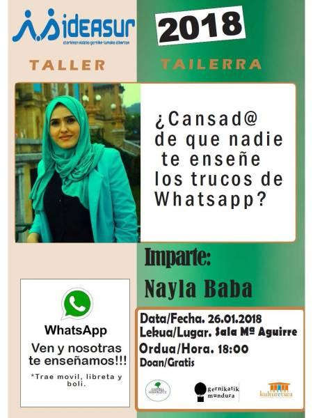 charla whatsapp